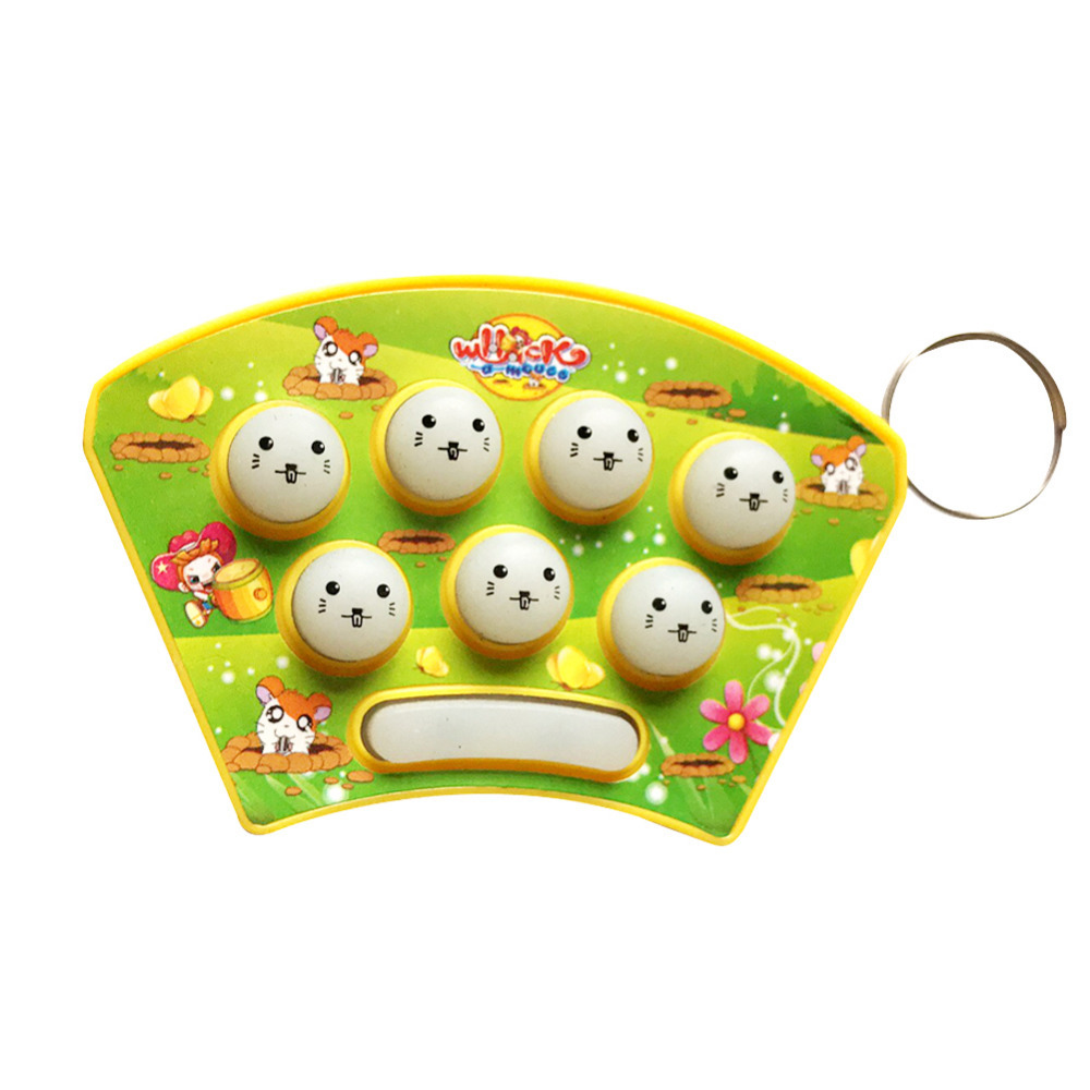 United 2017 New Funny Whack-mouse Mole Attack Game Knock Hamster Electronic Music Plastic Kids Flashlinght Game Toys