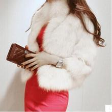 S/6Xl женские короткие куртки из искусственного меха размера плюс женские зимние осенние тонкие пальто из искусственного меха меховая одежда для открытого воздуха K528
