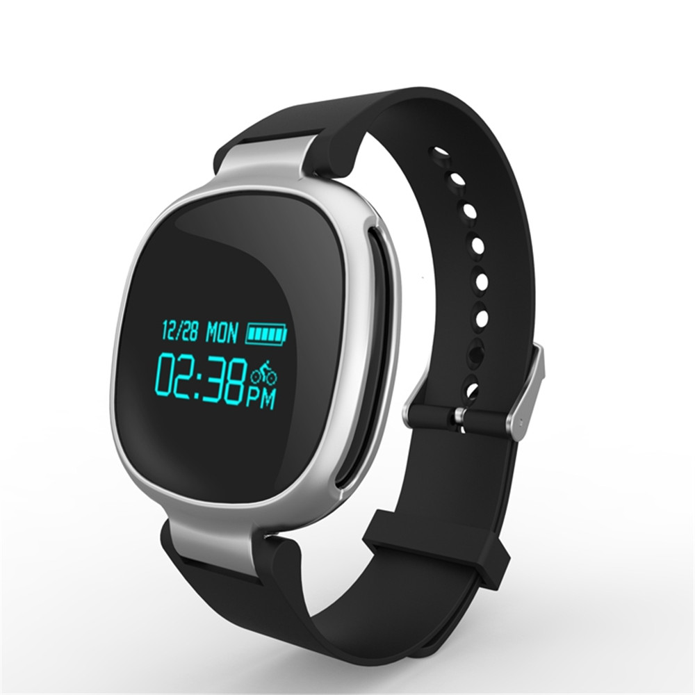 E08 Bluetooth4 0 Smartband Heart Rate Swimming Monitor IP67 Waterproof Fitness Tracker Anti lost for IOS