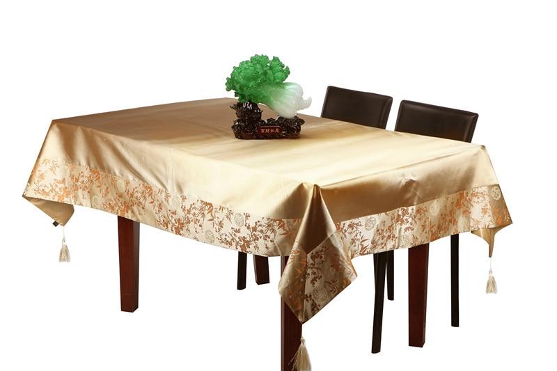 Običan patchwork tapiserija kineski ukrasni stolnjak pravokutni - Tekstil za kućanstvo - Foto 3