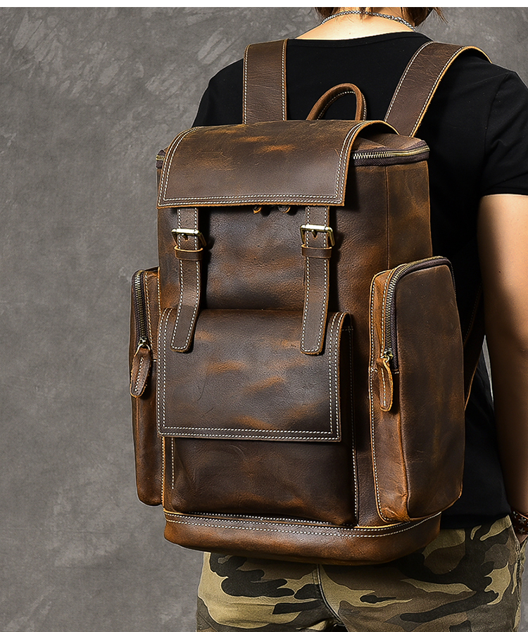 hore luxury vintage backpack model 1
