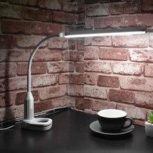 Clip-Light Table-Lamp Desk Eye-Protect Studying Reading Brightness 15 for Leds Usb-Touch-Sensor