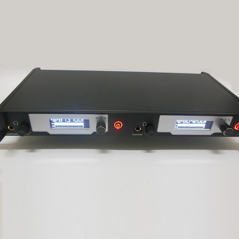 In ohr-monitor-system drahtlose aktualisiert SR2050 ohr monitore und empfänger für bühne Überwachung Persönliche IEM für Kirche Schule Bar