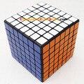 Shengshou mini 7x7x7 69.6mm Cubo Mágico Puzzle Blanco Y Negro Y Rosa de Aprendizaje y Juguetes Educativos Cubos magicos Juguetes