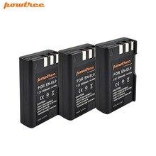 3pcs 7.2V 2000mAh akku  EN-EL9 EN EL9 ENEL9 Rechargeable Camera Battery For Nikon EN-EL9a D40 D40X D60 D3000 D5000 D3X L15