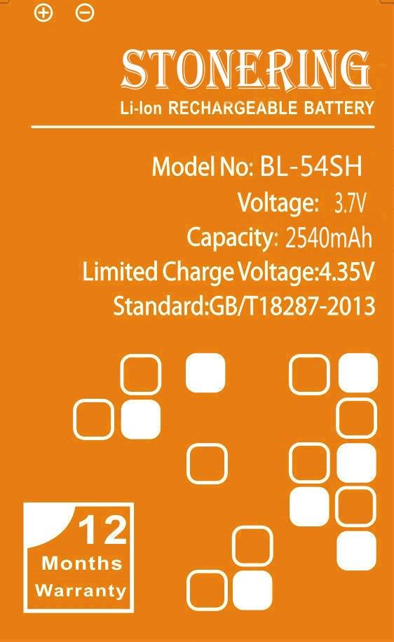 2540mAh BL-54SH <font><b>Battery</b></font> for <font><b>LG</b></font> Optimus G3 mini G2 <font><b>Battery</b></font> D725 D722 D728 D729 D22 F300 L90 F260 <font><b>D410</b></font> P698 F320 g3s mini