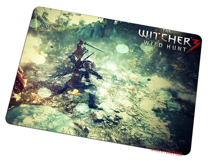 9 size cool The Witcher 3 mouse pad Can be washed large pad to mouse computer mousepad 2016 new gaming mouse mats to mouse gamer