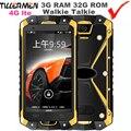 Rungee S8 Waterproof Phone IP67 3G RAM UHF VHF Walkie Talkie Shockproof phone IP68 Octa Core 4G PTT Rugged Smartphone