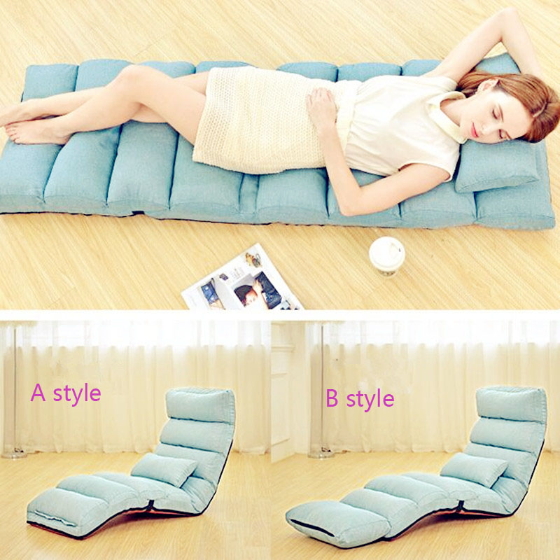 2018 new Multifunctional folding sofa bed tatami indoor sofas Multi gear adjustment sectional couch A,B style available