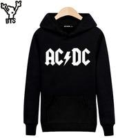 Rock Music AD DC Hooded Mens Hoodies And Sweatshirts Hip Hop Fashion Winter Sweatshirt Men Hoodie