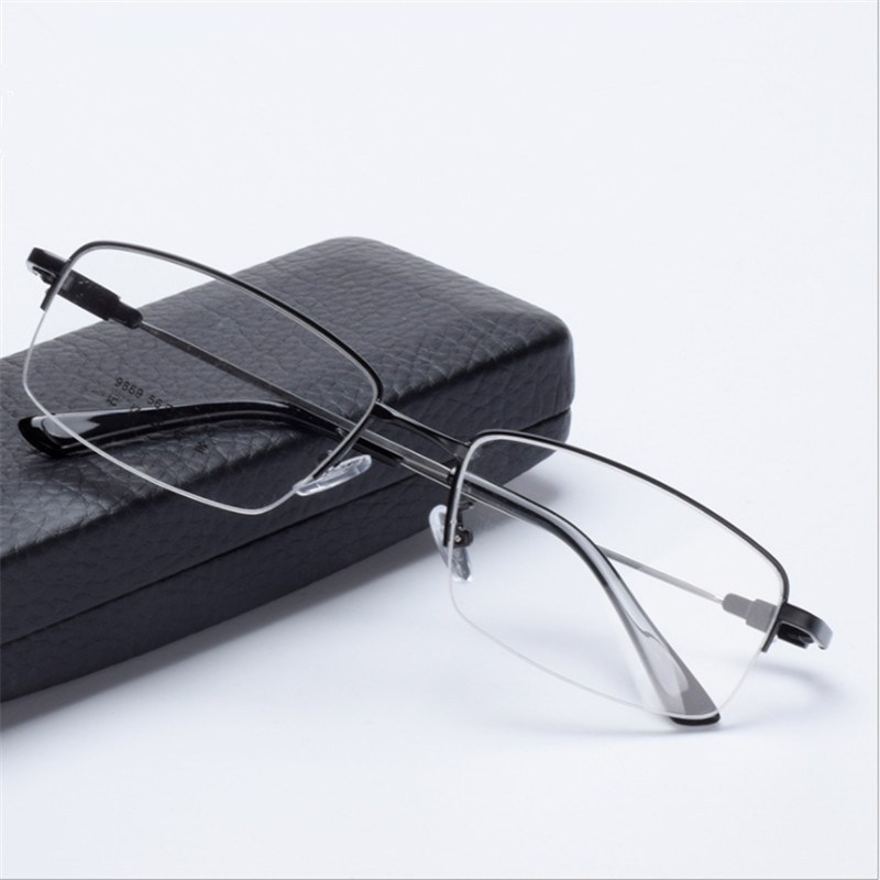 Blue light glasses Prescription Men Eyeglasses Optical Frame  Myopia Farsighted Progressive Multifocal Astigmatism 869(China)
