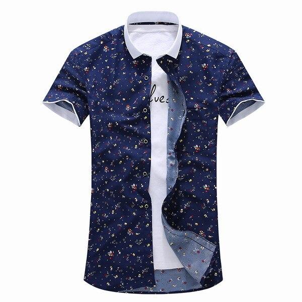 8c98ce5521b6 3 pattern Men Shirt New Summer Style 2015 Hot Floral Casual Slim Fit Shirts  Men Social Mens Shirts Chemise Hombre S-4XL FHY603