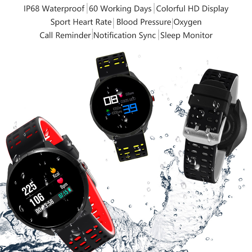 Men's Watches Digital Watches New Bluetooth Smart Bracelet With Heart Rate Monitor Waterproof Pedometer Fitness Tracker Women Men Smart Watch For Ios Android Vivid And Great In Style