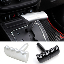 MOPAI ABS Shift T Handle Shifter Knob For Dodge Challenger Durango Ram JCUV Fit For Jeep Compass Wrangler Grand Cherokee Liberty
