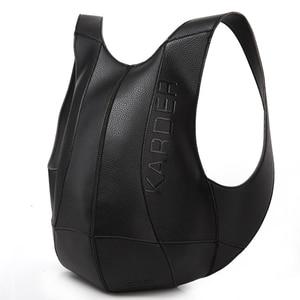 Image 1 - Tortoise Backpack Women Bags Travel Anti Theft Backpack Shoulder Bag Leather Motorcycle PU School Bagpack Men College Back Pack