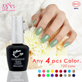TP Brand 4pcs/lot 10seconds Speed Cure Nail Gel Polish 8ml Long Lasting Soak-Off UV Gel Varnishes Nails Beauty Manicure Tools