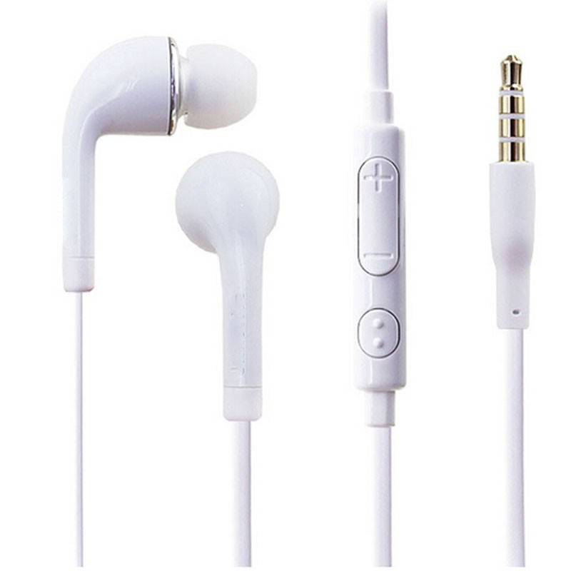 3.5mm In-Ear Stereo Earphone Earbud Silicone earpieces with MIC Microphone for Samsung Galaxy S3 S4 vention vae t03 earphone 3 5mm in ear bass stereo earbud with remote mic for samsung mp3 player