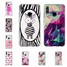 For Huawei Honor 10 Lite Case Soft TPU Silicone Cover Cute Cartoon Patterned lite Shell
