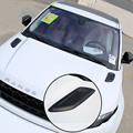 Капот потока всасываемого воздуха vent fender решетка гонки наклейка обложка для range rover evoque discovery спорт Аксессуары укладка