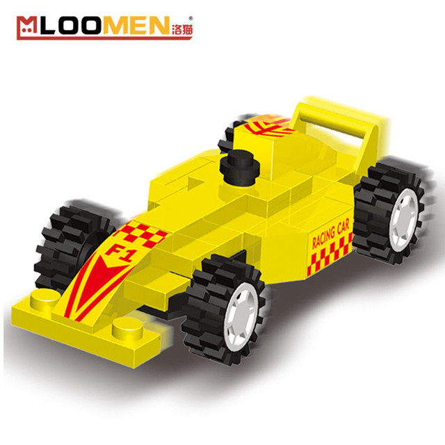 36pcs/set Racing Car DIY Building Blocks Toy