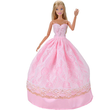 Formal Dress Dolls Clothes Accessories for Doll Fashion Wedding Long Skirt Clothes For Doll Toys for Girls Gift original 1 6 doll accessories doll clothes genuine dress for monster inc high dolls girls gift kids doll
