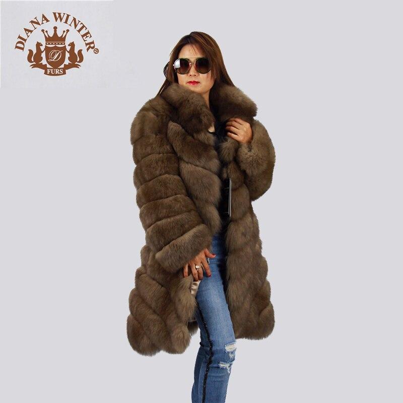 Kamel Winter Diana High Fox Fashion 2018 Wollmantel Winter End drBxEQCoeW
