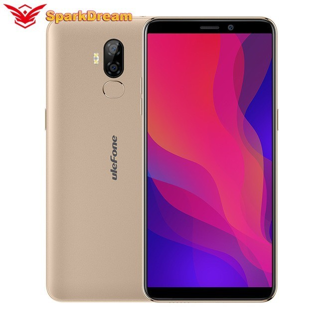 Ulefone P6000 Plus Smart Phone 6.0 Inch 18:9 HD+ Android 9.0 6350mAh MT6739 Ouad Core 3GB 32GB Face ID 4G LTE Mobile Phone