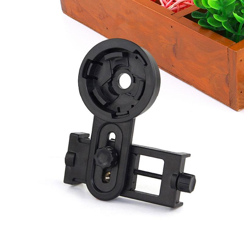 12x50mm Optical Monocular Telescope Universal Holder Adapter Clip Mount Bracket For Width 5.5-9cm Mobile Smart Phone universal cell phone holder mount bracket adapter clip for camera tripod telescope adapter model c