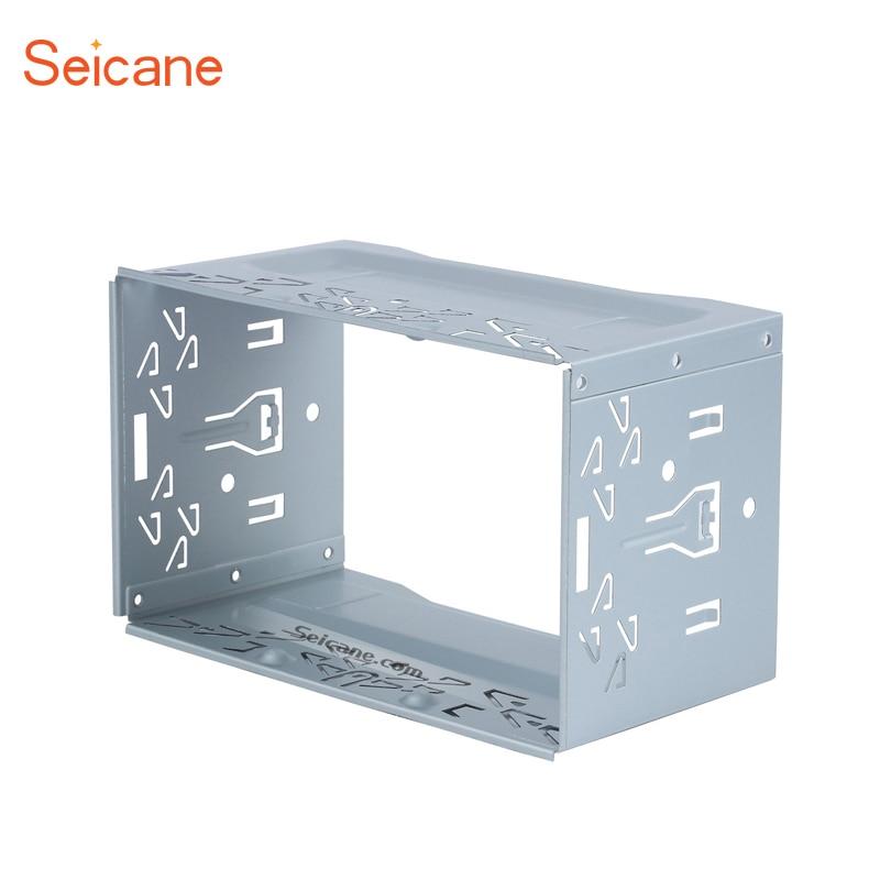 Seicane 2 Din Hardware Auto Stereo Radio Fascia Panel für Universal ...