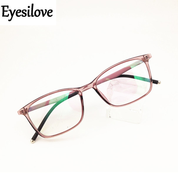 Fashion Women Customized Myopia Glasses Ultra-light TR90 Optical Frame Prescription Glasses Mopia Eyeglasses Reading Glasses