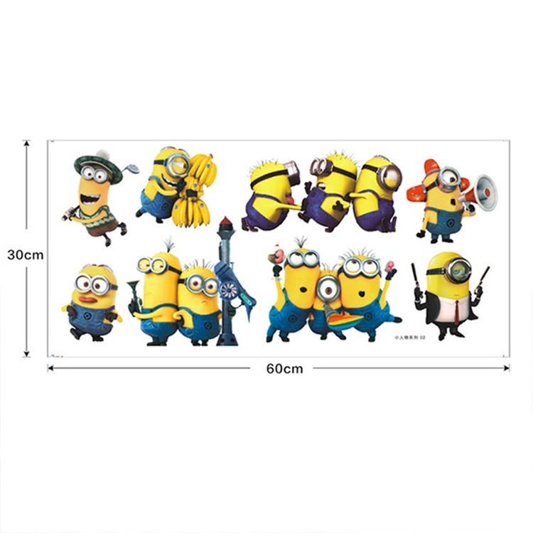 Aliexpresscom  Buy Minion Wall Stickers Switch Sticker CM - Minion wall decals