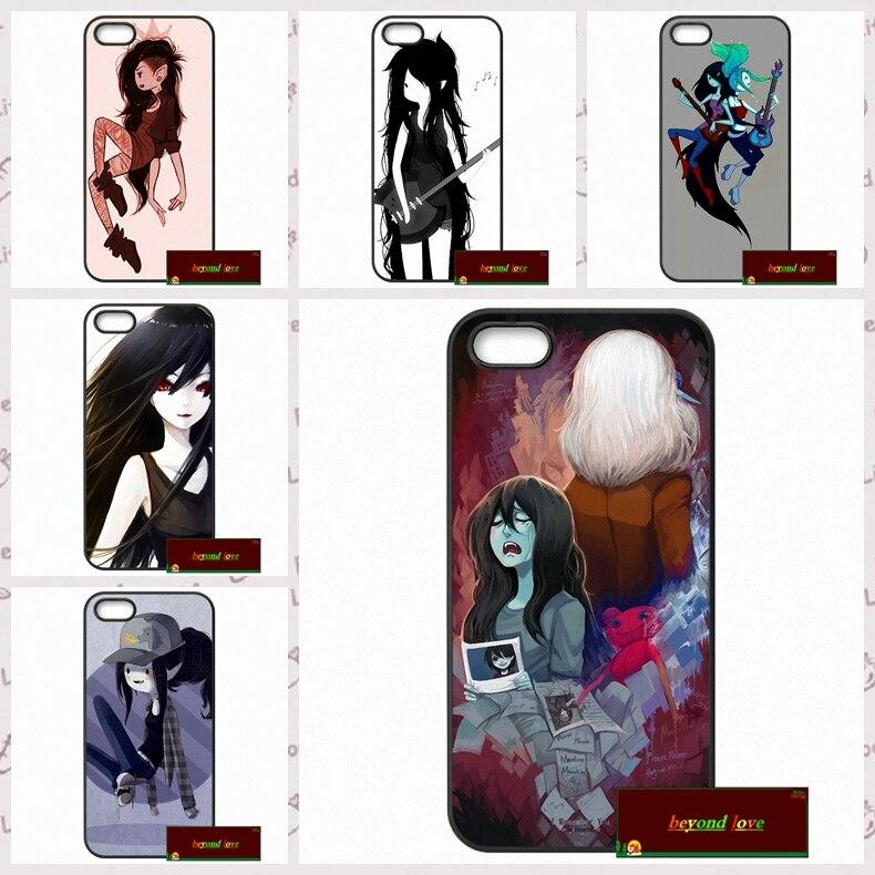 Adventure Time Marceline Cover case for iphone 4 4s 5 5s 5c 6 6s plus samsung galaxy S3 S4 mini S5 S6 Note 2 3 4  DE0011