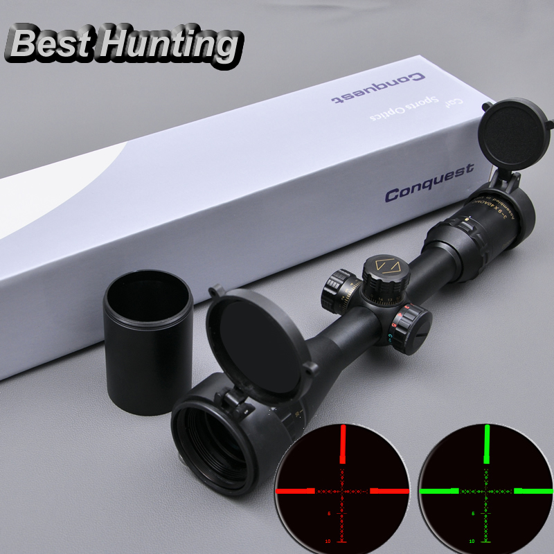 Carl Zeiss Conquest 3-9x40AOMC Low Zoom Riflescopes For Outside Hunting Optic Sight for Airsoft Gun бинокль carl zeiss 8x56 t conquest