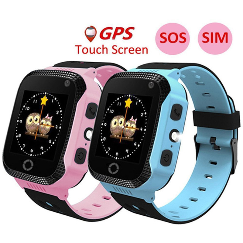 Waterproof Kids Smart Watch Anti-lost Safe LBS Tracker SOS Call For Android IOS Watch Language: Russian. English