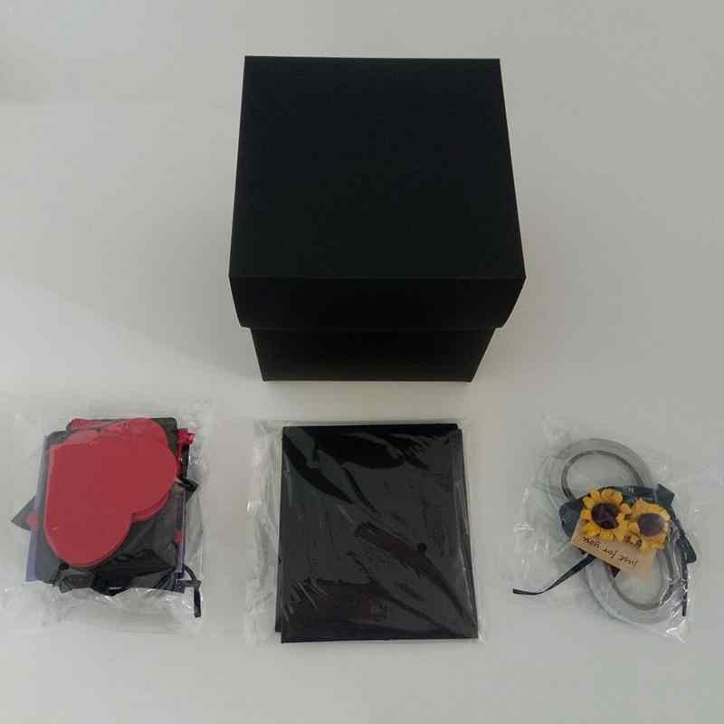 Our Warm DIY Surprise Love Explosion Box Gift For Anniversary Scrapbook Photo Album Birthday
