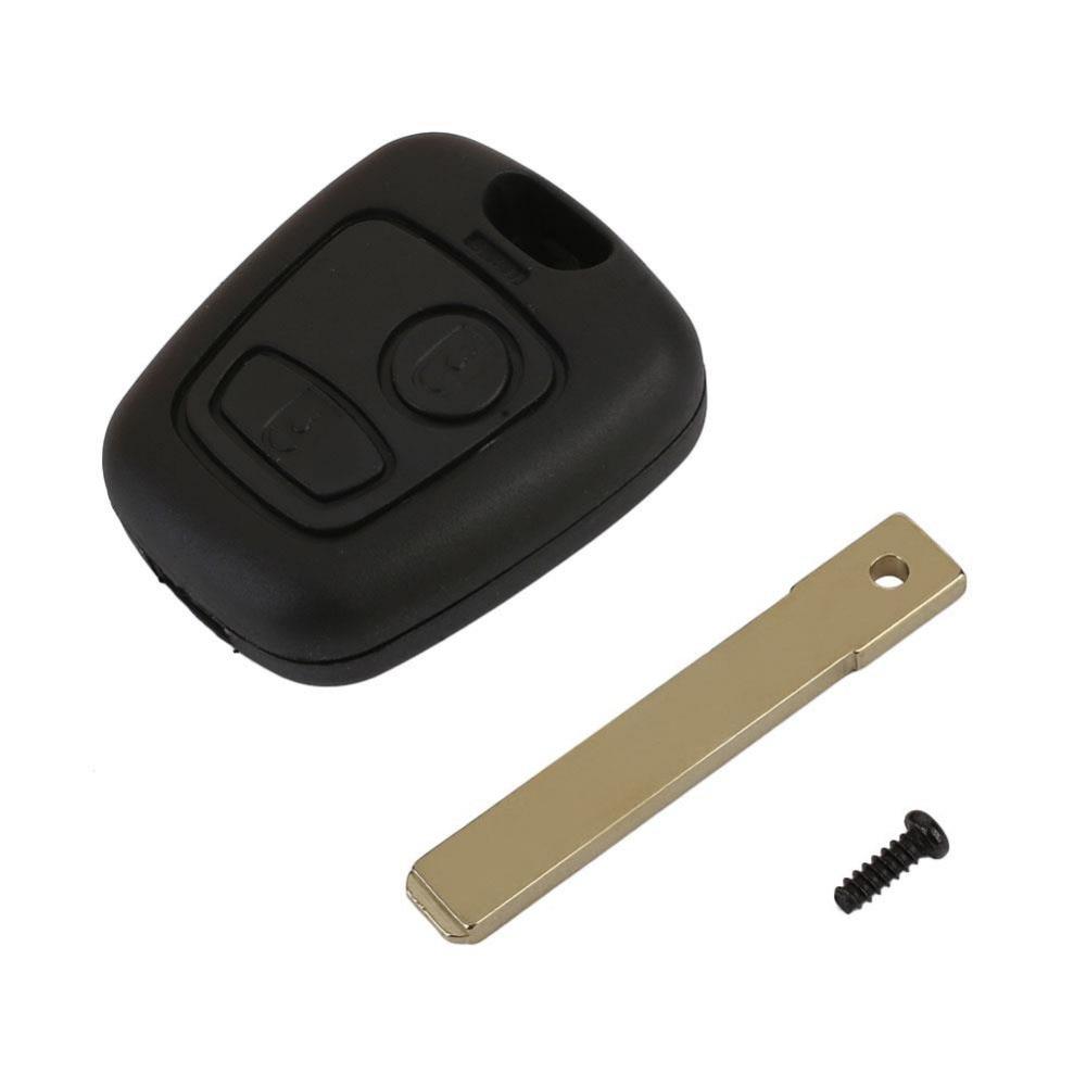 Vehemo Авто 2 кнопки флип пульт дистанционного управления брелоки чехол Замена оболочки с лезвием для Toyota AYGO аксессуары