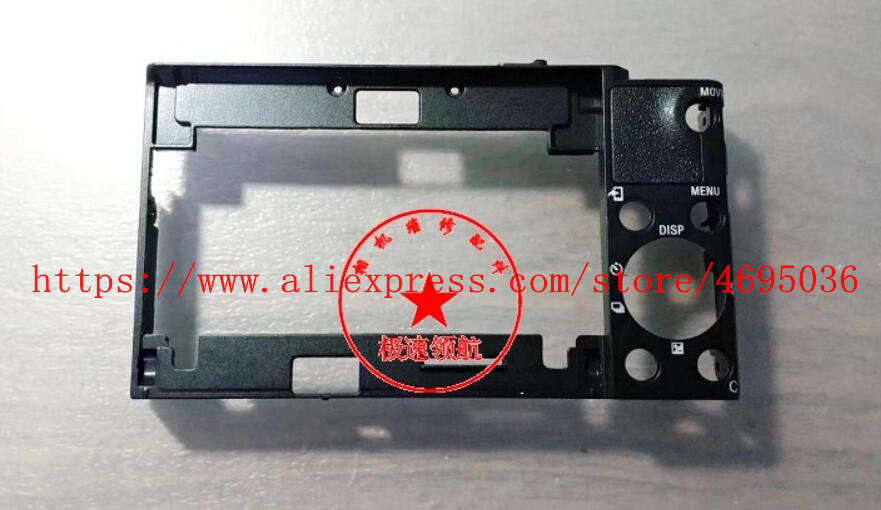 Repair Parts For Sony DSC-RX100 VI DSC-RX100M6 Back Cover Rear Case Outer Shell UnitRepair Parts For Sony DSC-RX100 VI DSC-RX100M6 Back Cover Rear Case Outer Shell Unit