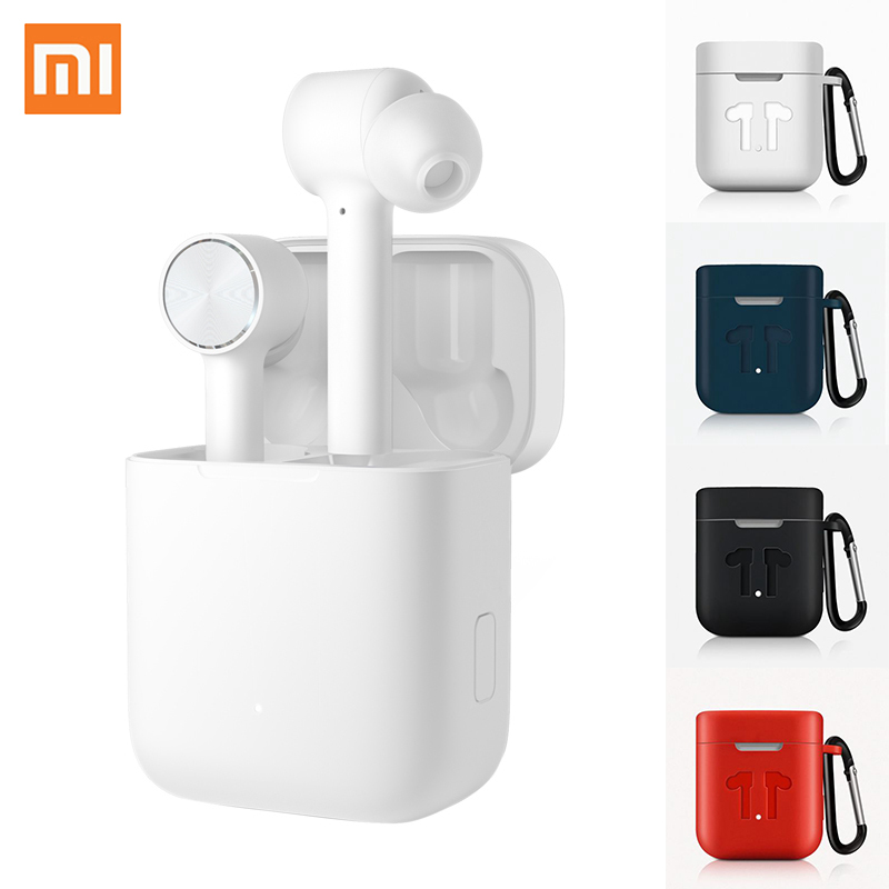 Original Xiao mi Airdots Pro TWS véritable écouteur sans fil Bluetooth mi Air ANC commutateur ENC Auto Pause contrôle du robinet casque écouteurs
