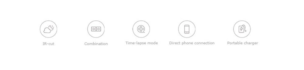 Original Xiaomi Mijia XiaoFang Smart IP Camera Wifi Wireless 1080P Full HD 110 degrees wide angle Night Shot WiFi Connection2