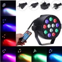 Newest 30W RGBW LED Stage Light DMX Voice Remote Control LED Stage Lighting Effect Laser Lamp