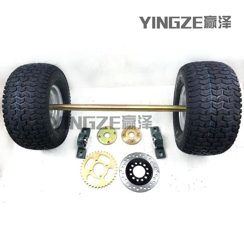 Atv,rv,boat & Other Vehicle Diy Four Wheel Go Kart Karting Atv Utv Buggy Sprocket 85cm Rear Axle