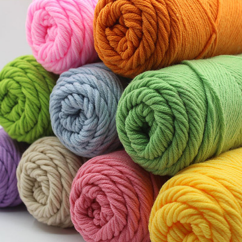 Hand Knitting Yarns : Online buy wholesale needles acrylic yarn from china