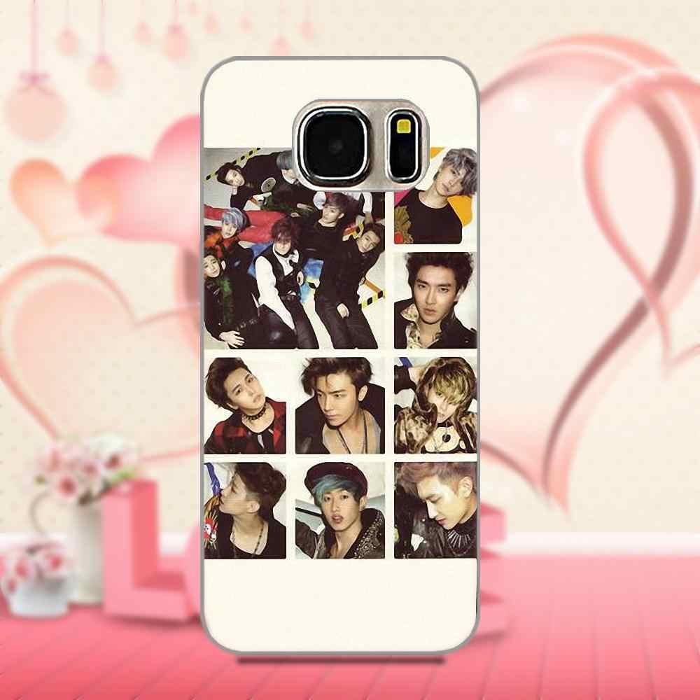 Мягкий с рисунком из ТПУ чехол Bixedx Super Junior Kpop для Xiao mi Red mi 5 4A 3 3S Pro mi 4 mi 4i mi 5 mi 5S mi Max mi x 2 Note 3 4 Plus