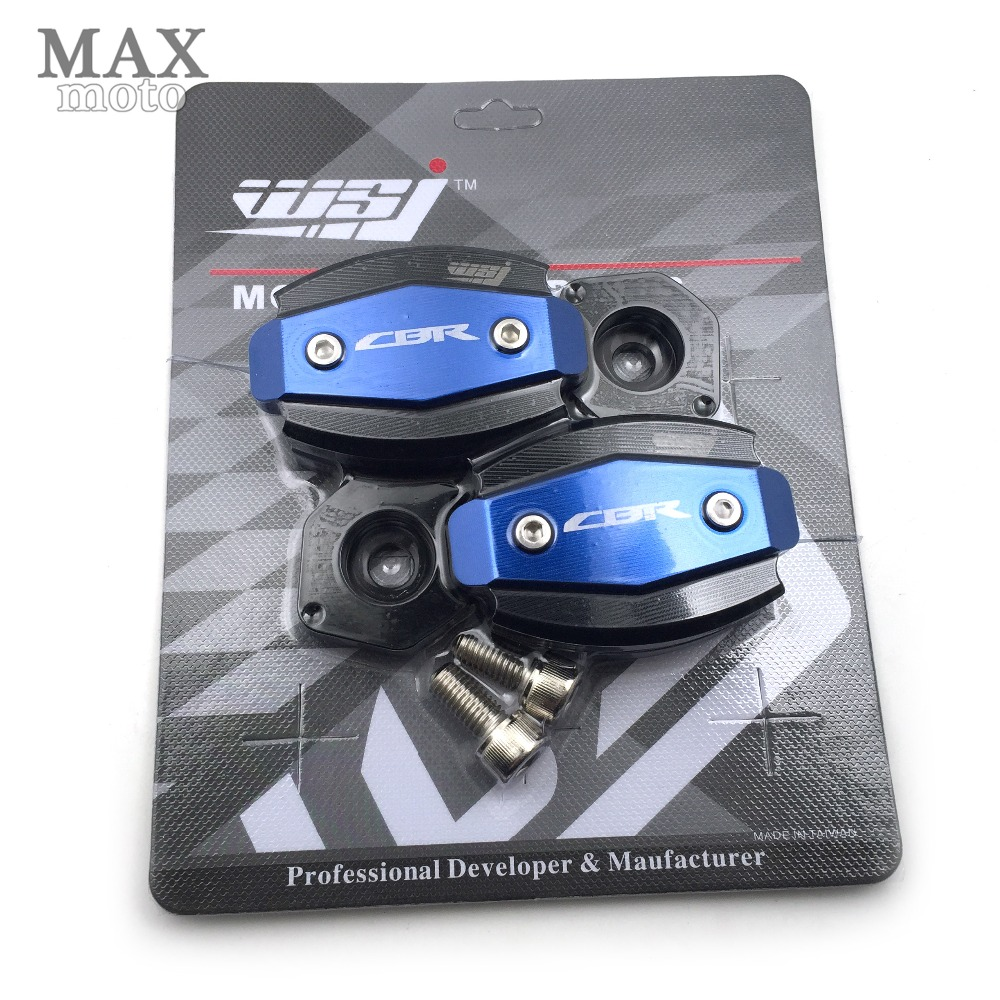 free shipping motorcycle Engine Cover Frame Sliders Crash Protector For HONDA CBR1000RR 2008 2009 2010 2011 2012 arashi motorcycle radiator grille protective cover grill guard protector for 2008 2009 2010 2011 honda cbr1000rr cbr 1000 rr