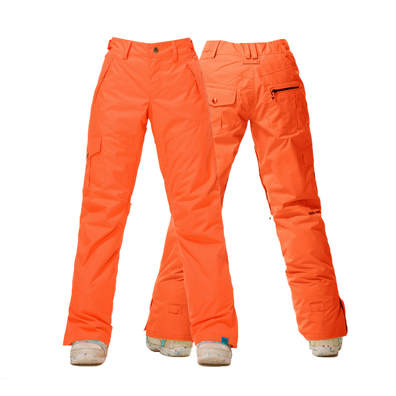 Pantalon de Ski femme GSOU SNOW Brand pantalon de Snowboard imperméable hiver Ski de plein air Snowboard pantalon de Sport femme vêtements de neige - 2
