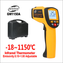 BENETECH Thermometer Infrared Thermometer Digital Electronic Handheld Laser Industrial Temperature Hygrometer IR Thermometer