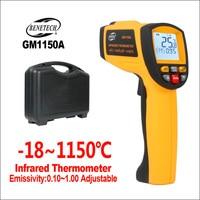 Termómetro infrarrojo BENETECH  termómetro Digital electrónico  Láser de mano  higrómetro de temperatura Industrial  termómetro IR