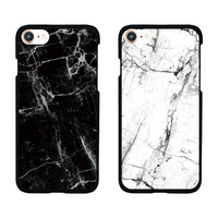 Hot Fashion Marble Pattern Matte Plastic Hard Case For IPhone X Phone Cover Coque For IPhone