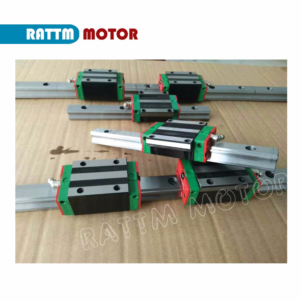Image 3 - 3 sets Square Linear guide sets L 400/700/1000mm & 3pcs Ballscrew 1605 400/700/1000mm with Nut & 3set BK/B12 & Coupling for CNC-in Nut & Bolt Sets from Home Improvement