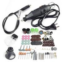 dremel mini drill rotary tool accessories engraver kit ferramentas electric power tools flexible shaft woodworking 220v